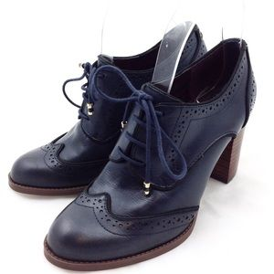 Tommy Hilfiger Stacked Heel Wingtips 6 @